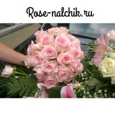 Свадебный букет Розовая мечта
